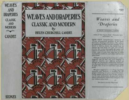 Dust Jackets - Weaves and draperies, cla