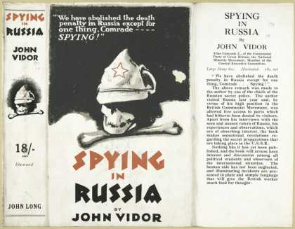 Dust Jackets - Spying in Russia.
