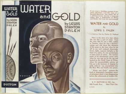 Dust Jackets - Water and gold.