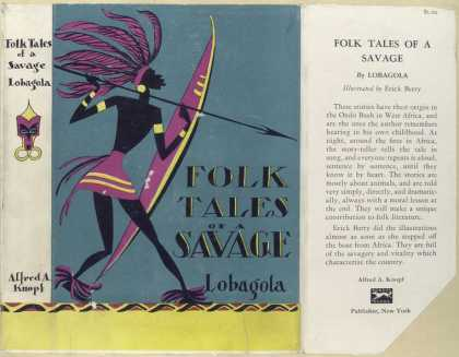 Dust Jackets - The folk tales of a savag