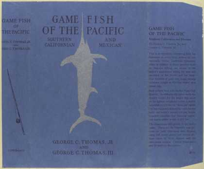 Dust Jackets - Game fish of the Pacific: