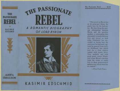 Dust Jackets - The passionate rebel, a r