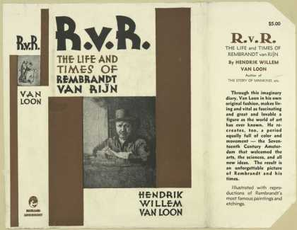 Dust Jackets - R.v.R., the life and time