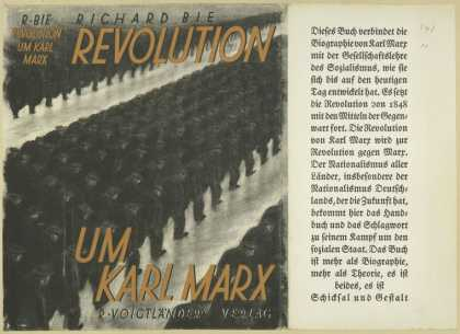 Dust Jackets - Revolution um Karl Marx.