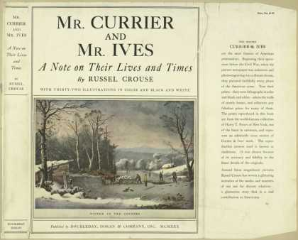 Dust Jackets - Mr. Currier and Mr. Ives