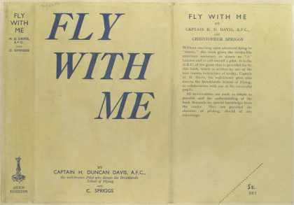 Dust Jackets - Fly with me.