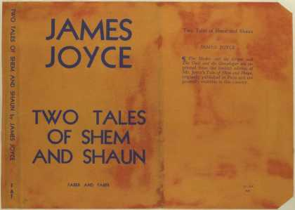 Dust Jackets - Two tales of Shem and Sha