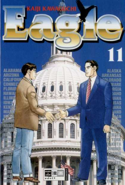 Eagle 11 - Political - Capitol - Suit - Deal - Handshake
