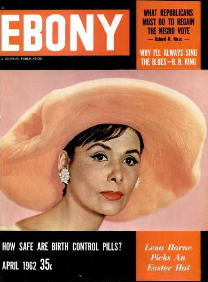 Ebony - Ebony - April 1962