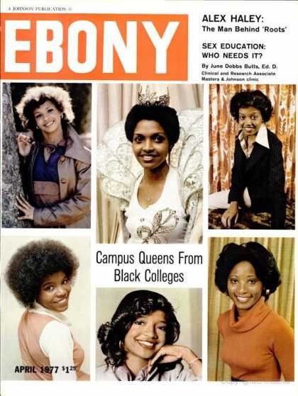Ebony - Ebony - April 1977