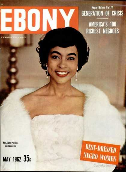 Ebony - Ebony - May 1962