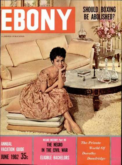 Ebony - Ebony - June 1962