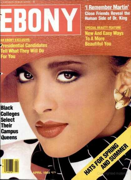 Ebony - Ebony - April 1984