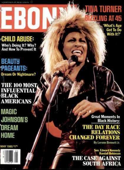 Ebony - Ebony - May 1985