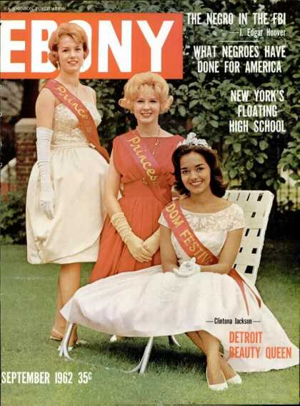 Ebony - Ebony - September 1962