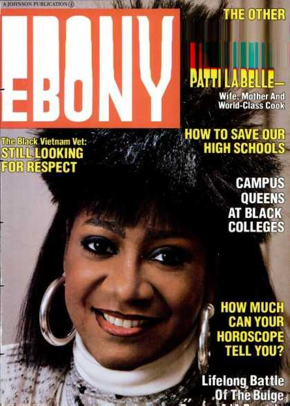 Ebony - Ebony - April 1986