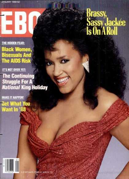 Ebony - Ebony - January 1988
