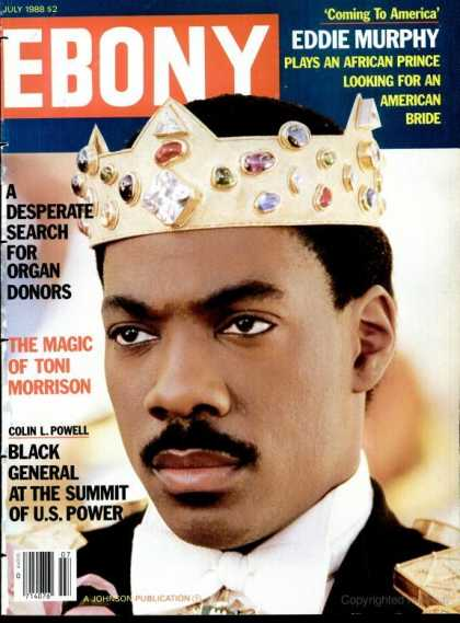 Ebony - Ebony - July 1988