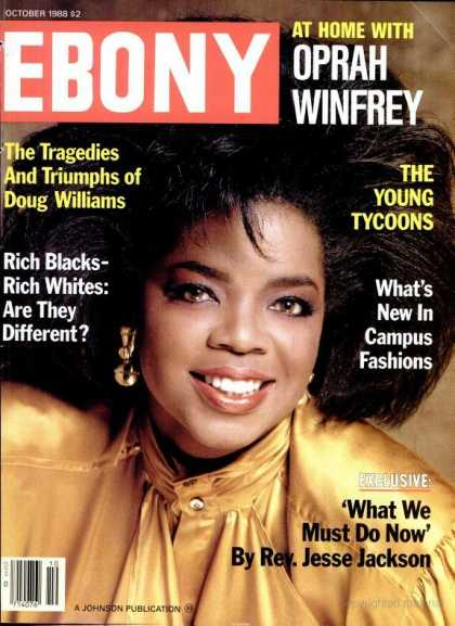 Ebony - Ebony - October 1988