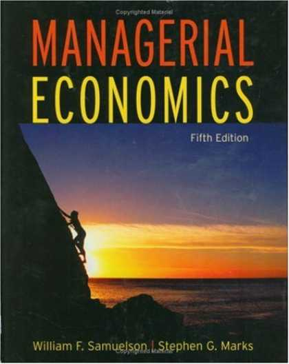 Economics Books - Managerial Economics
