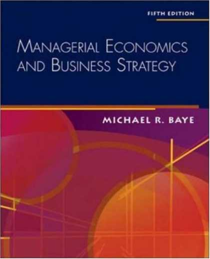 Economics Books - Managerial Economics & Business Strategy + Data Disk
