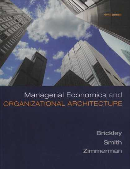 Economics Books - Managerial Economics & Organizational Architecture
