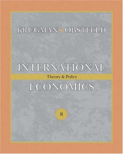 Economics Books - International Economics: Theory and Policy (8th Edition) (Addison-Wesley Series