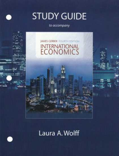 Economics Books - Study Guide for International Economics