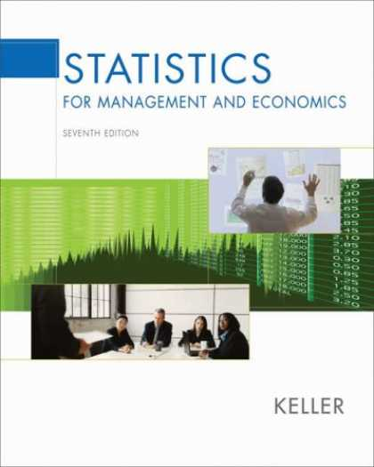 Economics Books - Statistics for Management and Economics (with CD-ROM and InfoTrac )