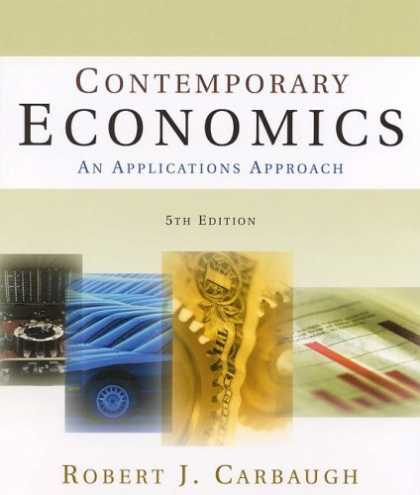 Economics Books - Contemporary Economics: An Applications Approach