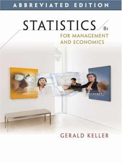 Economics Books - Statistics for Management and Economics, Abbreviated Edition (with CD-ROM)