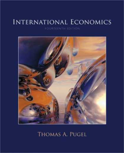 Economics Books - International Economics (Mcgraw-Hill Series Economics)