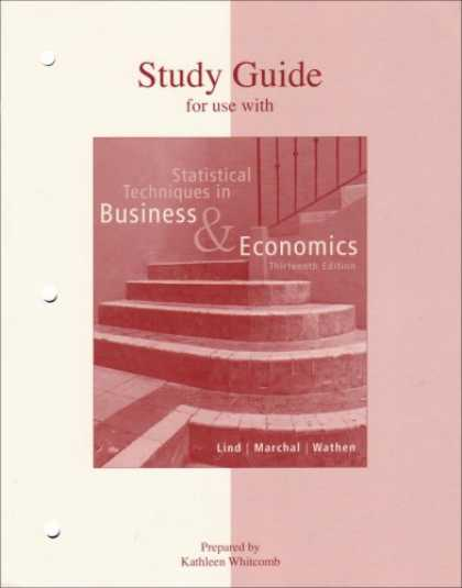 Economics Books - Statistical Techniques in Business & Economics Study Guide