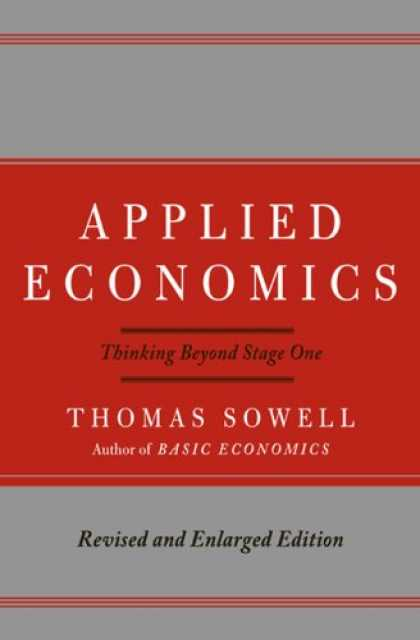 Economics Books - Applied Economics: Thinking Beyond Stage One