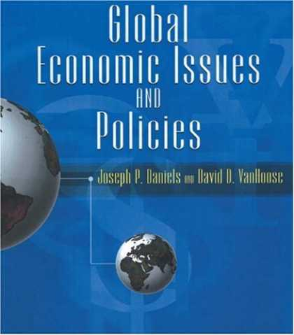 Economics Books - Global Economic Issues and Policies with Economic Applications