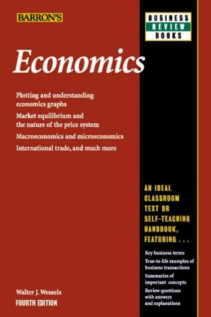 Economics Books - Economics (Barron's Business Review Series)