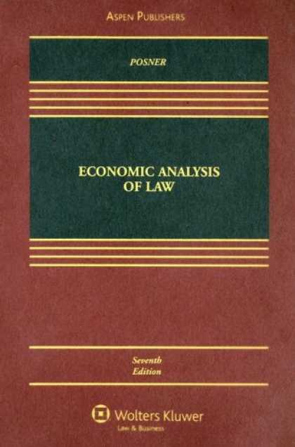 Economics Books - Economic Analysis of Law
