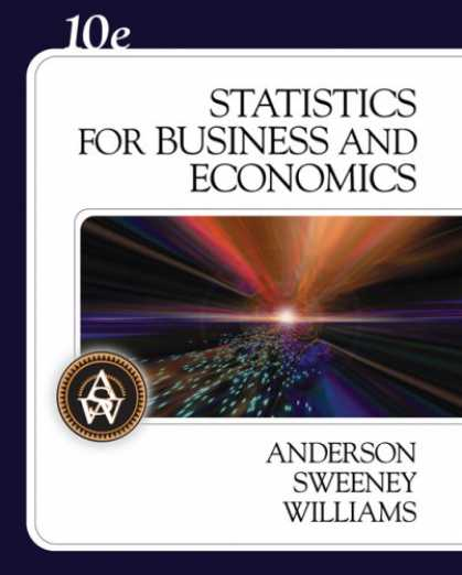 Economics Books - Statistics for Business and Economics (with CD-ROM)