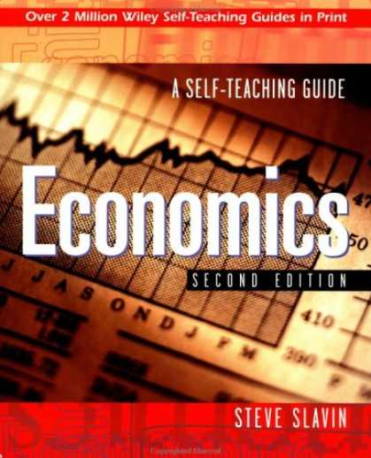 Economics Books - Economics: A Self-Teaching Guide (Wiley Self-Teaching Guides)