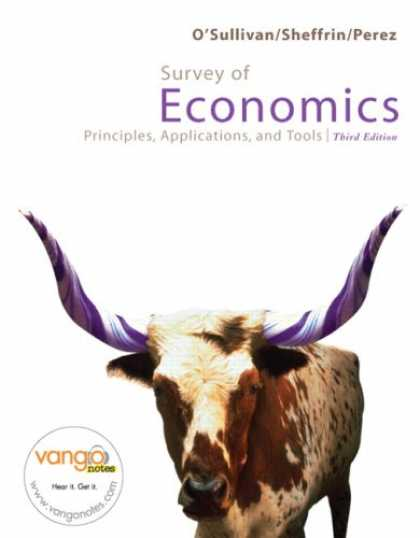 Economics Books - Survey of Economics (3rd Edition) (MyEconLab Series)