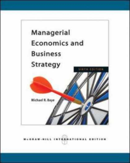 Economics Books - Managerial Economics and Business Strategy