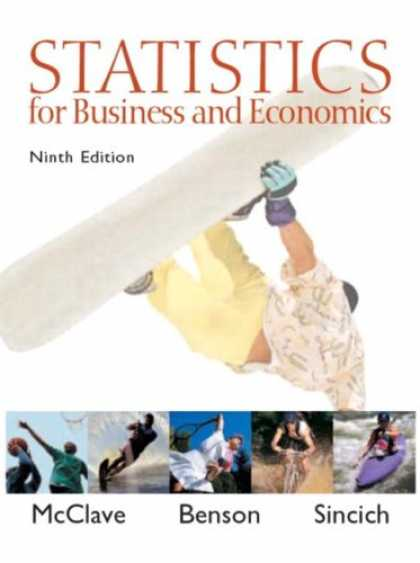 Economics Books - Statistics for Business and Economics (9th Edition)
