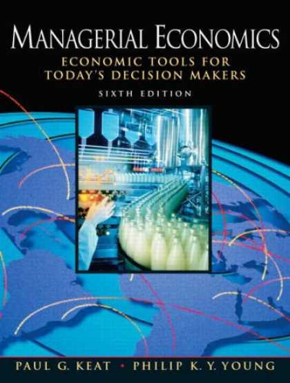 Economics Books - Managerial Economics (6th Edition)