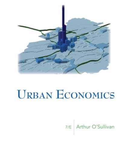 Economics Books - Urban Economics (McGraw-Hill Series in Urban Economics)