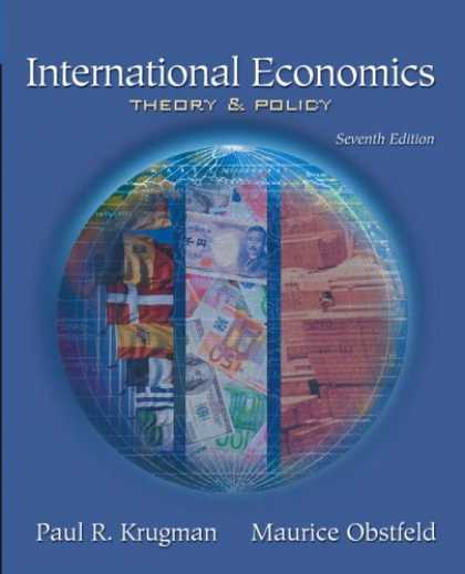 Economics Books - International Economics: Theory And Policy (7th Edition)