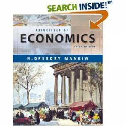 Economics Books - Mankiw 'Principles of Economics' - 3rd (Third) Edition