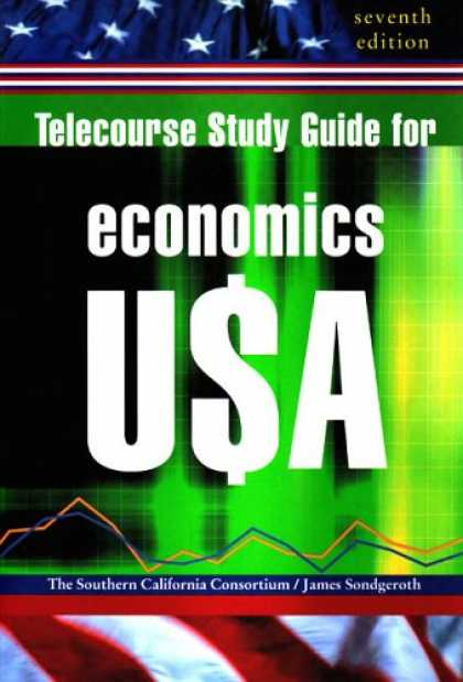 Economics Books - Telecourse Study Guide for Economics U$A, Seventh Edition