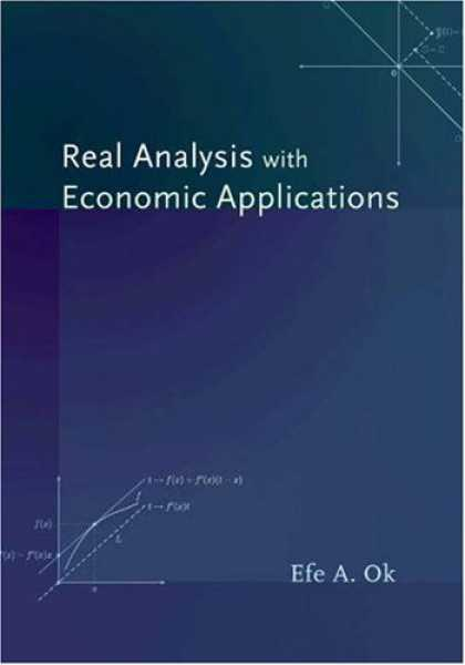 Economics Books - Real Analysis with Economic Applications