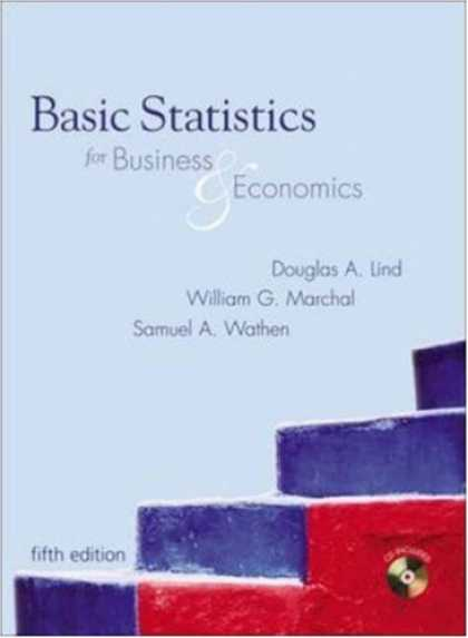 Economics Books - Basic Statistics for Business and Economics with Student CD-ROM