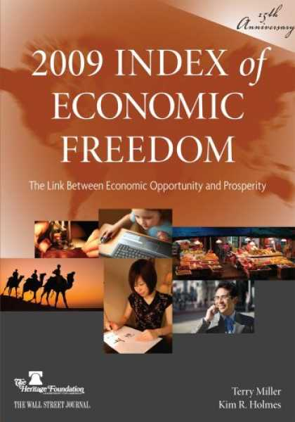 Economics Books - 2009 Index of Economic Freedom